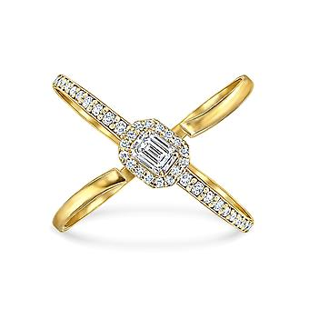 Ring Monaco 18k Gold and Diamonds