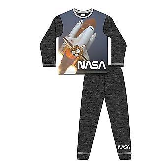NASA Boys Spaceship Long-Sleeved Pyjamas