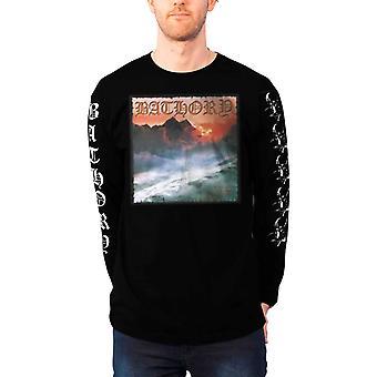 Bathory T Shirt Twilight Of The Gods logo new Official Mens Black Long Sleeve