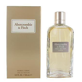 Abercrombie & Fitch First Instinct Sheer 100ml Eau de Parfum Spray for Women