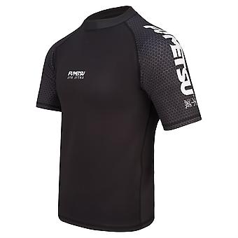 Fumetsu Concurrent MK1 Short Sleeve Rash Guard Noir