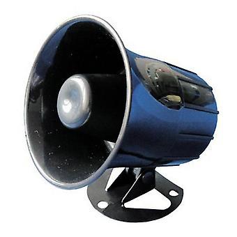 Langallinen hälytyssireeni ilman salamaa hälytyksen äänenvoimakkuudella - 105 +/-3db/lm