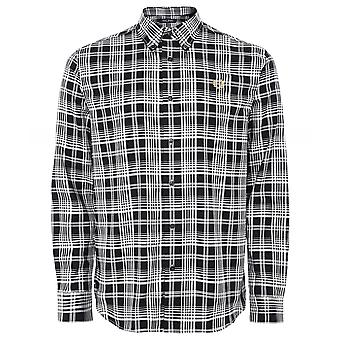 Fred Perry Monochrome Check Shirt M1554 102