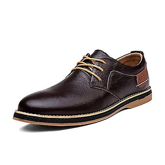 Men Genuine Leather Loafer Casual Shoe.