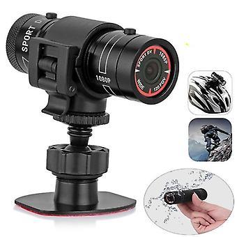 Motorcycle Helmet Sport Action  Camera Video Recorder (black)