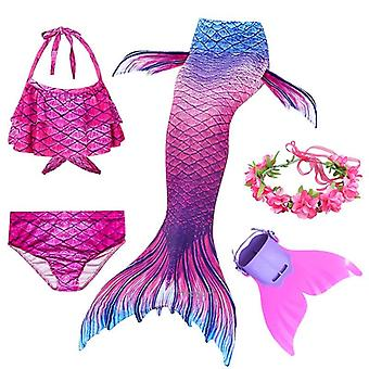 Svømming Mermaid Cosplay Badedrakt