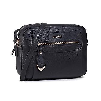 Bag Donna Liu-jo Crossbody S Black Shoulder Strap Bs21lj41 Aa1114
