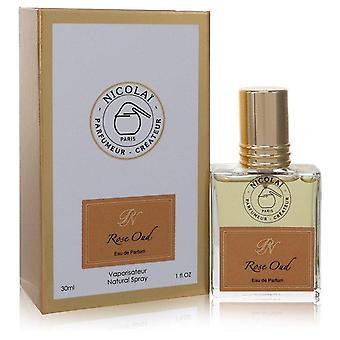 Nicolai Rose Oud Eau De Parfum Spray (Unisex) By Nicolai 1 oz Eau De Parfum Spray