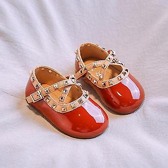 Leather Female Single Baby  / Toddler Shoes