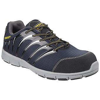 Stanley globe navy/grey s1p sports safety trainers mens