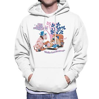The Magic Roundabout Ermintrude & Dougal Hello Handsome Men's Hooded Sweatshirt