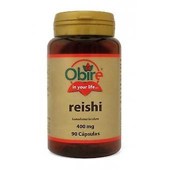 Obire Reishi Ganoderma Micelio 400 mg 90 Kapseln