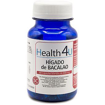 Health 4U Cod Liver 60 Softgels 800 mg