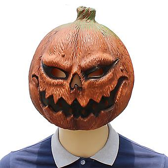 Halloween Pompoen Hoofd Masker Horror Grappig Masker Latex Dance Cosplay Party Kostuum Rekwisieten