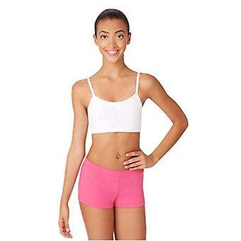 Capezio Women's Camisole Bra Top,White,XS (2-4)