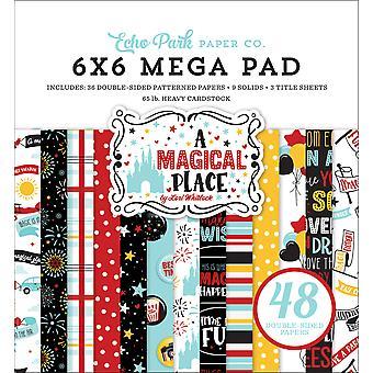 Echo Park A Magical Place 6x6 Inch Cardmakers Mega Pad