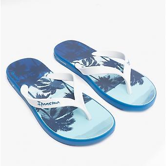 Ipanema Posto Palm Mens Flip Flops White