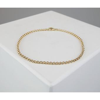 Gouden Christian jasseron armband