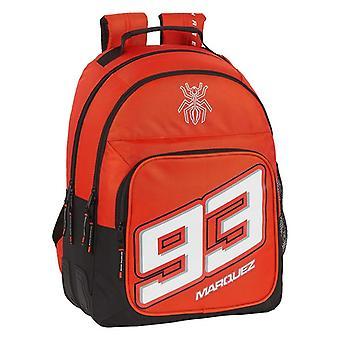 School Bag Marc Marquez Black Red
