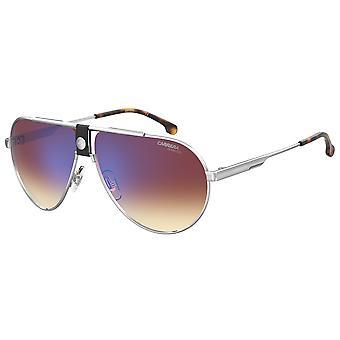 Carrera 1033/S 010/A8 Palladium/Brown Gradient Blue Mirror Glasses