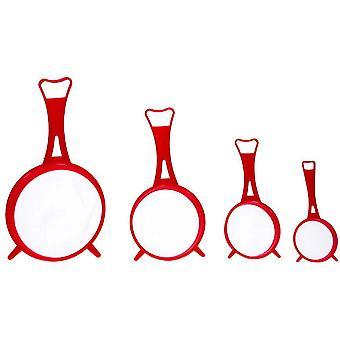 siebsatz 6,5-14 cm rot
