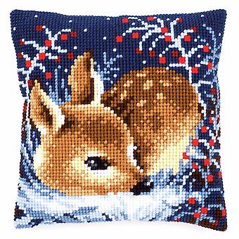 Vervaco Cross Stitch Kit: Coussin: Little Deer