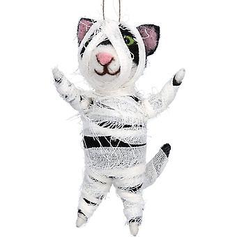 Gisela Graham Halloween Cat Decoration