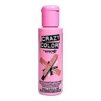 Crazy Color Semi Permanent HårFärg - Roséguld 73