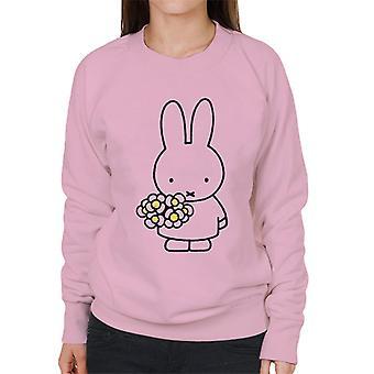 Miffy Holding Daisies Women's Sweatshirt