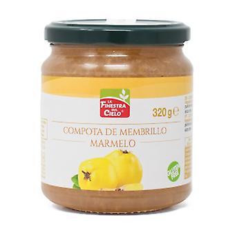 Yksinkertainen & orgaaninen kvince-kompotti (omenamassalla) 320 g