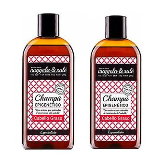 Duplo Epigenetic Shampoo for oily hair 2 units of 250ml