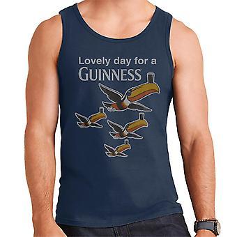 Guinness Toucans Lovely Day For A Guinness Men's Vest