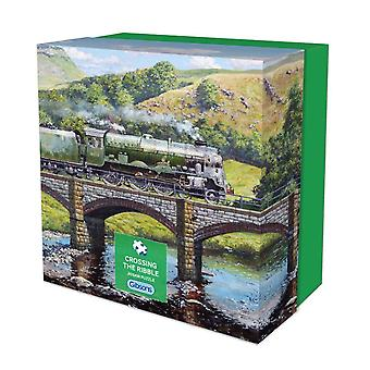 Crossing the Ribble 500 pc Jigsaw by Gibsons