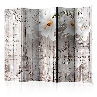 Biombo - Parisian Lilies II [Room Dividers]