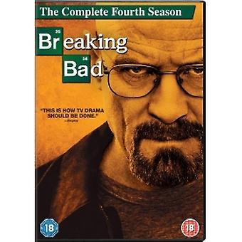 Breaking Bad Season 4 DVD