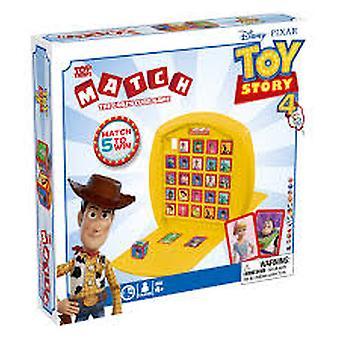 Topp Trumps match Disney Pixar Toy Story 4