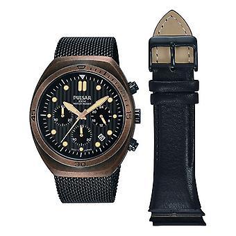 Relógio Masculino Pulsar PT3984X2 (42 mm) (Ø 42 mm)