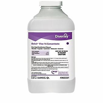 Lagasse Surface Disinfectant Cleaner Oxivir Five 16 Peroxide Based Liquid Concentrate 2.5 Liter NonSterile , 1 Each