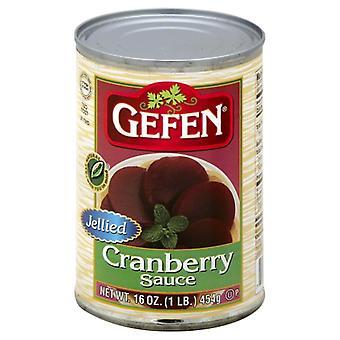 Gefen Sauce Cranberry Jelly, Case of 24 X 16 Oz