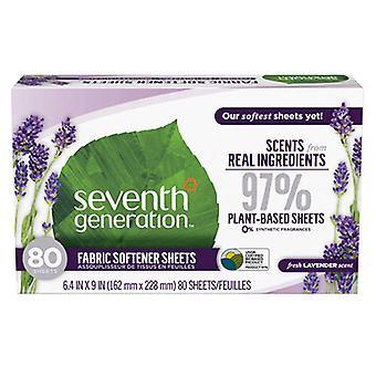 Seventh Generation Fabric Softener Sheets, Eucalyptus & Lavender 80 CT