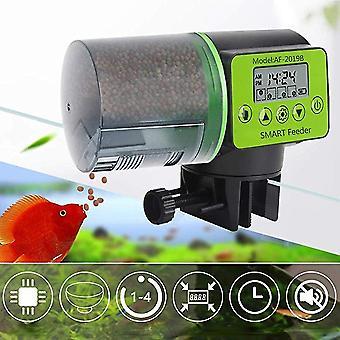 Automatischer Fischfütterer Digital Fish Tank Aquarium Elektrische Kunststoff Timer Feeder Futterfütterung