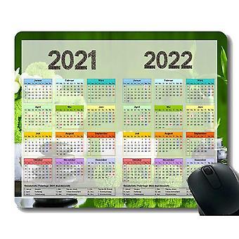 (300x250x3) Kalendář na rok 2021 2022 let s důležitými svátky Herní podložka pod myš vlastní, umělá