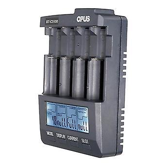 BT-C3100 V2.2 4Slots LCD Display Smart Intelligentes Universal-Batterieladegerät