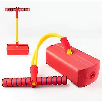 Kinder Fitness Spielzeug, Outdoor Jumping Balance Sense Indoor Trainingsgerät (Rot)