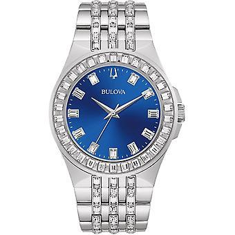 Bulova Women's Phantom Blue Dial Watch - 96L290
