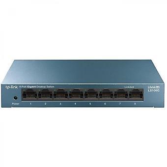 Ls108g Switch Ethernet a 8 porte 10/100/1000 Mbps