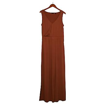 G by Giuliana Jumpsuits Knit Jumpsuit Brown One-Piece 649943