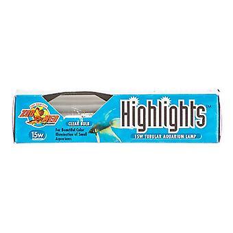 Zoo Med Highlights Lampe d'aquarium - Clair - 15 Watts