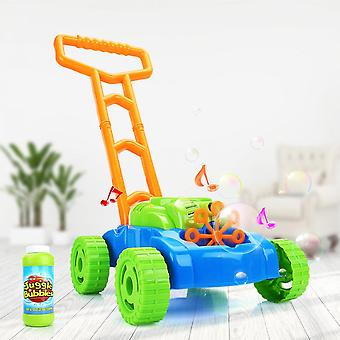 Lanbena Children's Toy Hand Push Automatic Bubble Car Baby Toddler Electric Outdoor