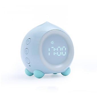 Alarm clocks little wake up nightby kids room bed and wark audio bluetooth wake up